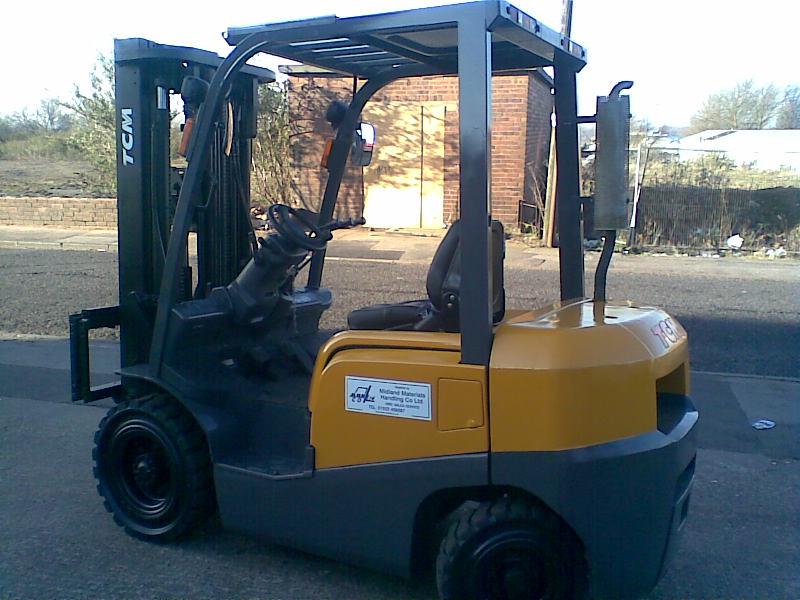 TCM FD30D Diesel fork lift truck