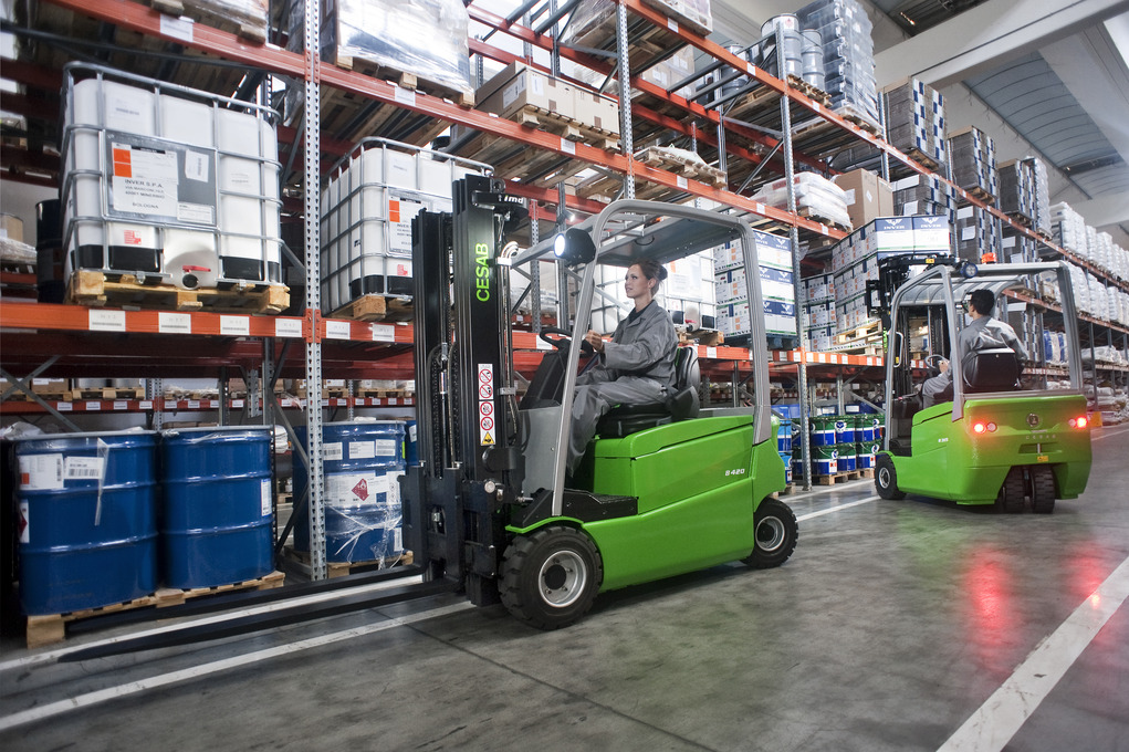 Cesab B400 Electric Forklift Truck