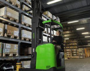 Cesab R300 electric reach truck